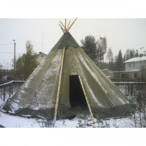 Traditionel Lavvu Teepee Tipi 25