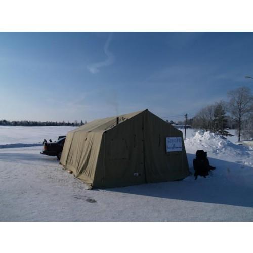 Base Camp 26 Norsk militærtelt/samlingstelt.