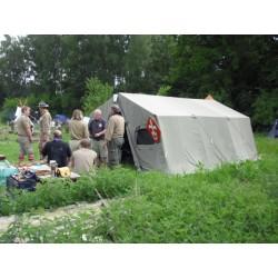 Base Camp 20 Norsk militærtelt/samlingstelt.