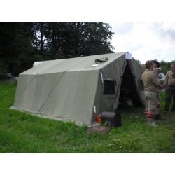 Base Camp 33 Norsk militærtelt/samlingstelt.